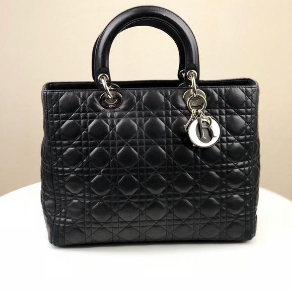 cf5ec0cf3 Dior Bags | Authentic Christian Lady Bag Pre Owned | Poshmark